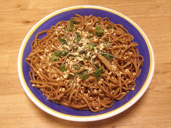 Tahini Sesame Noodles recipe