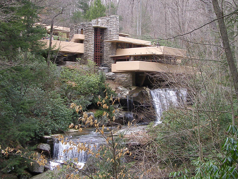 Fallingwater: Frank Lloyd Wright's masterpiece home in Pennsylvania