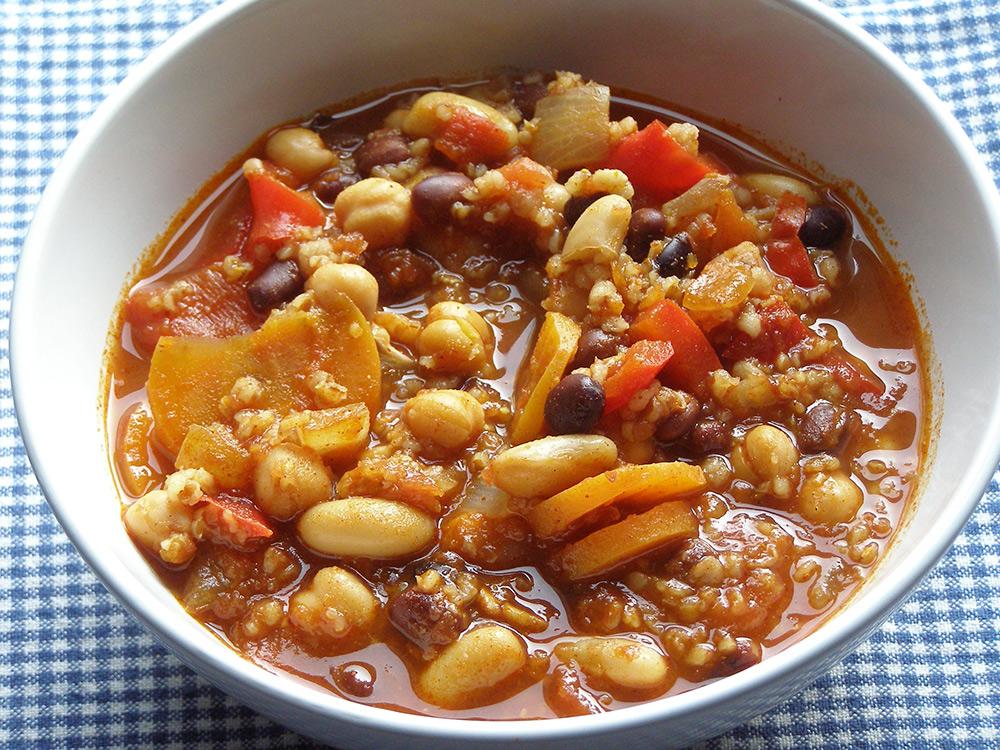 Three Bean Chipotle Chili