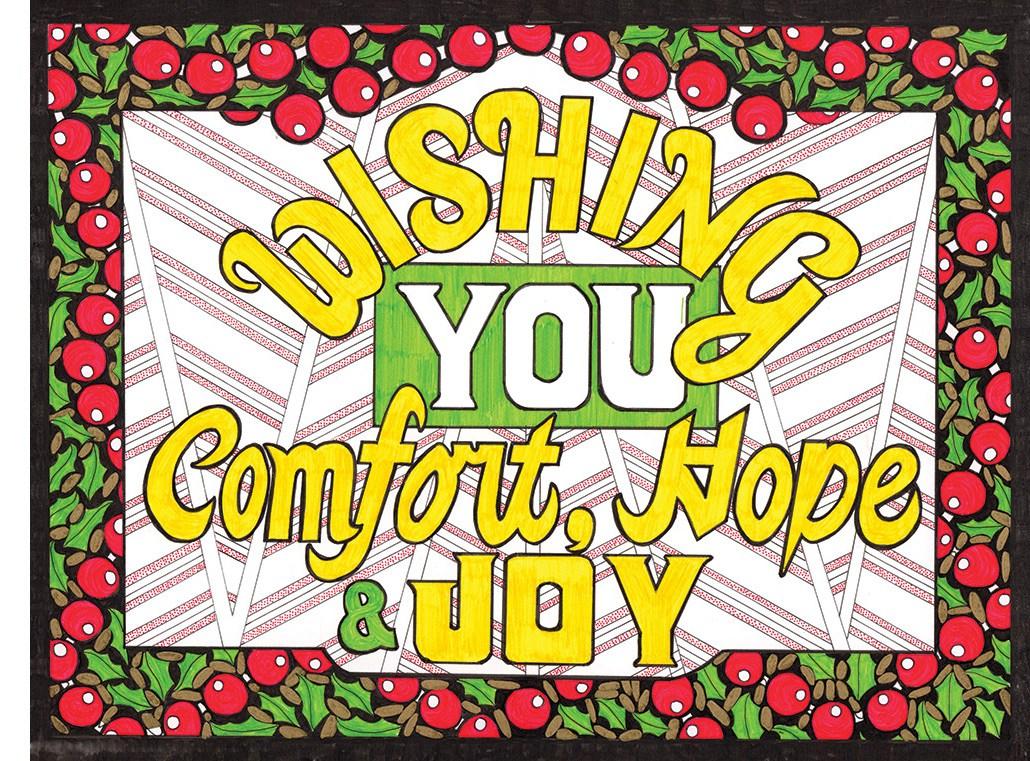 Holiday Card Idea - Suzanne Trevellyan