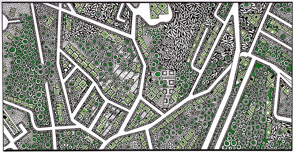 Map of Highland, NY - Suzanne Trevellyan