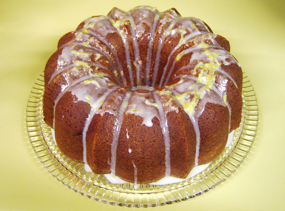 Lemon Bundt Pound Cake