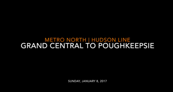 Metro-North: Hudson Line Grand Central to Poughkeepsie