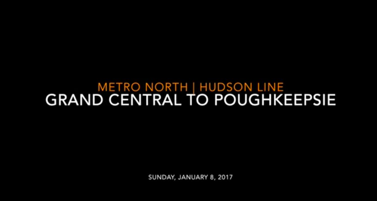 Metro North Hudson Line
