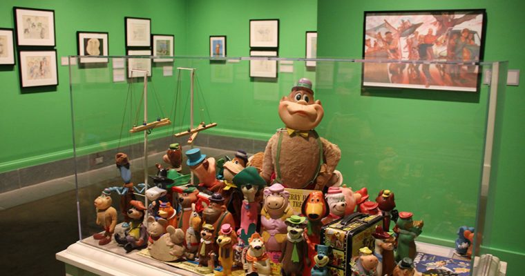 The Hanna-Barbera Exhibit at the Norman Rockwell Museum