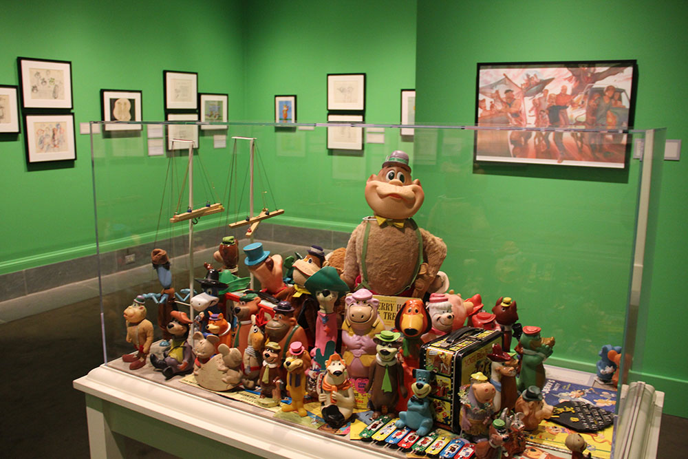 Hanna-Barbera Exhibit at the Norman Rockwell Museum in Lenox, MA