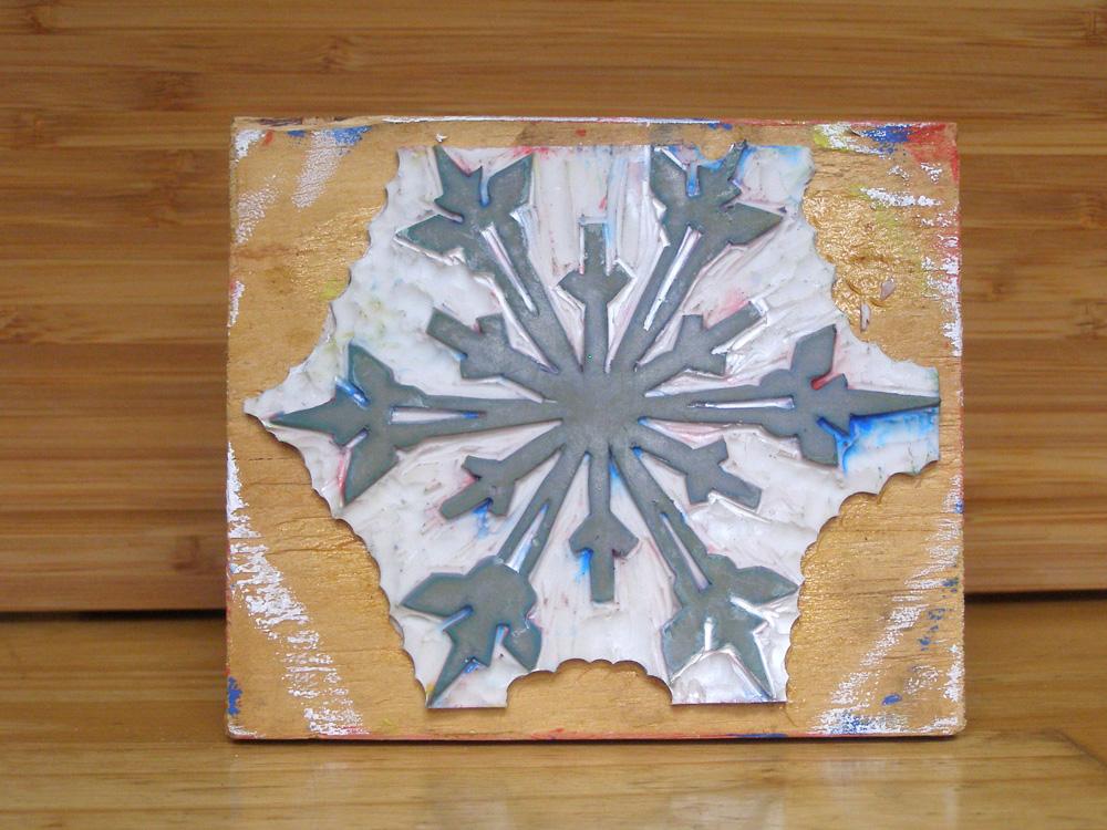original linocut - Suzanne Trevellyan