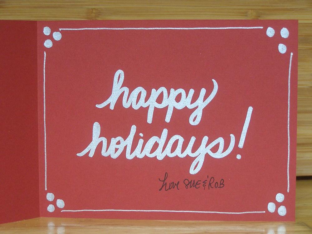 Handmade Holiday Cards 2017 - Suzanne Trevellyan