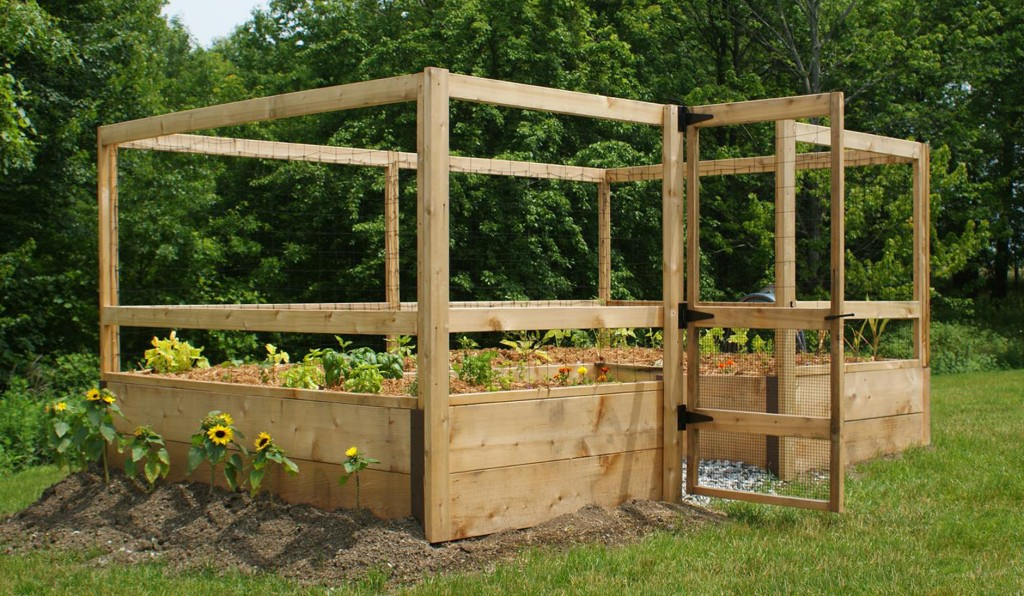 Deer Proof Vegetable Garden Kit By Gardens To Gr