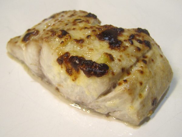 Bluefish with Lemon-Garlic Mayonnaise
