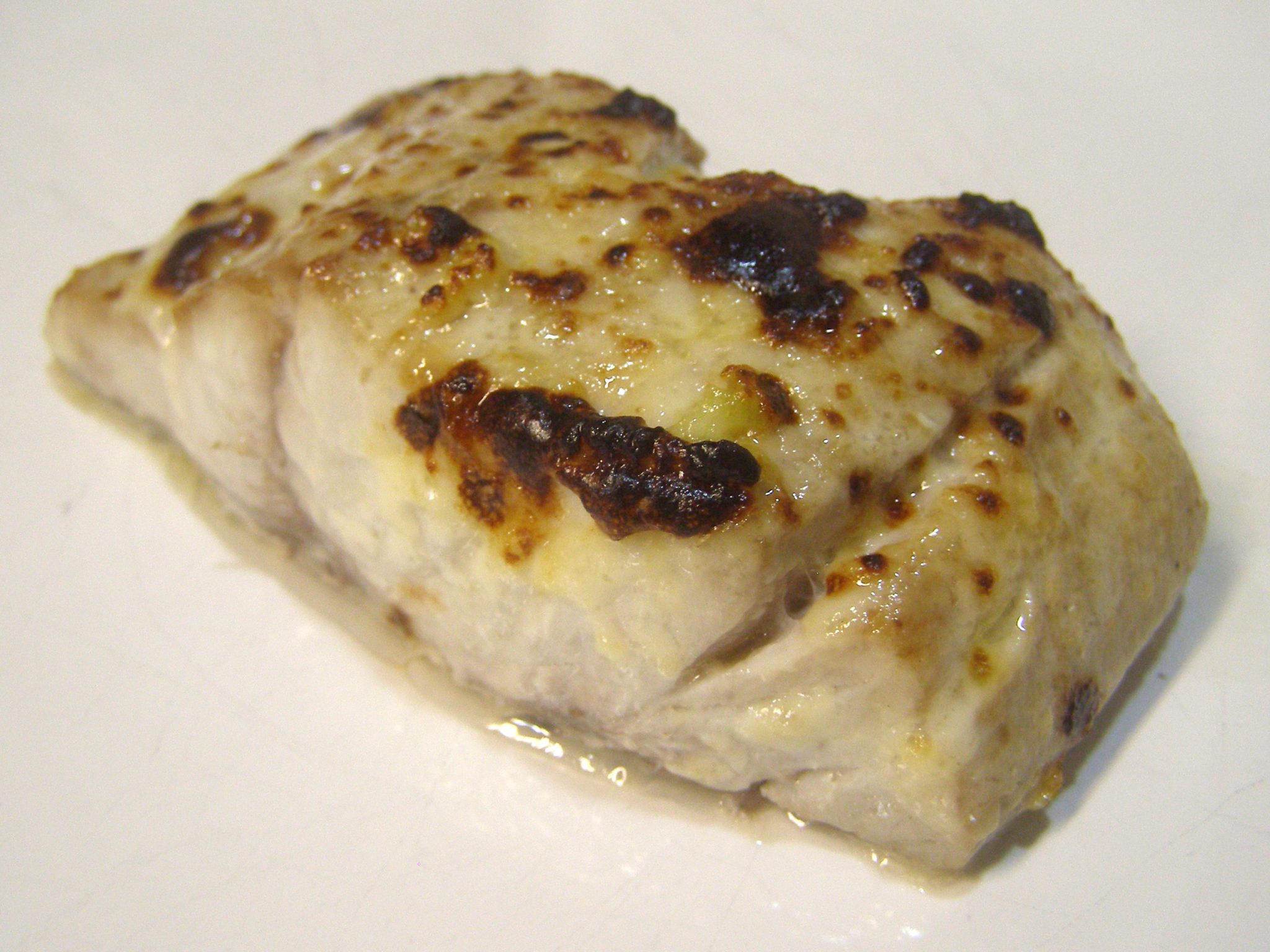 Bluefish with Lemon-Garlic Mayonnaise