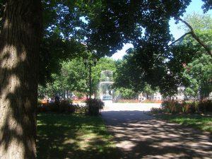 Saint Louis Square in Montréal