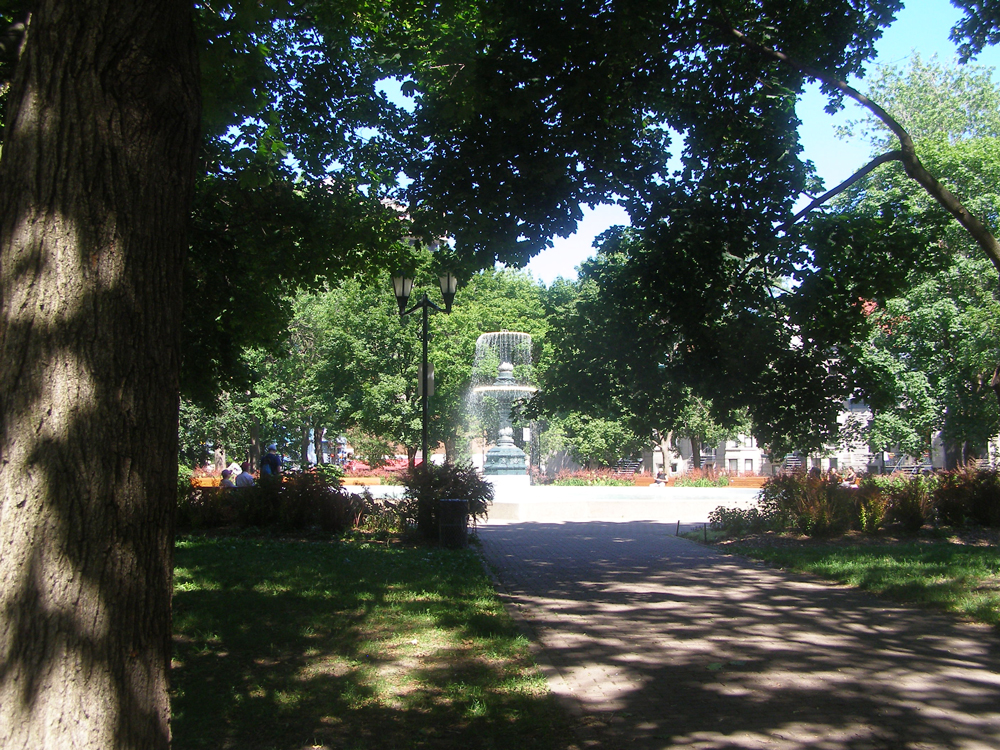 Saint Louis Square in Montréal