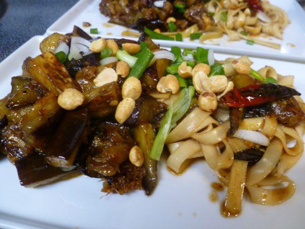 Szechuan Eggplant
