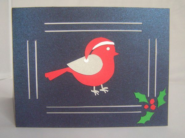 holiday card handmade by Suzanne Trevellyan