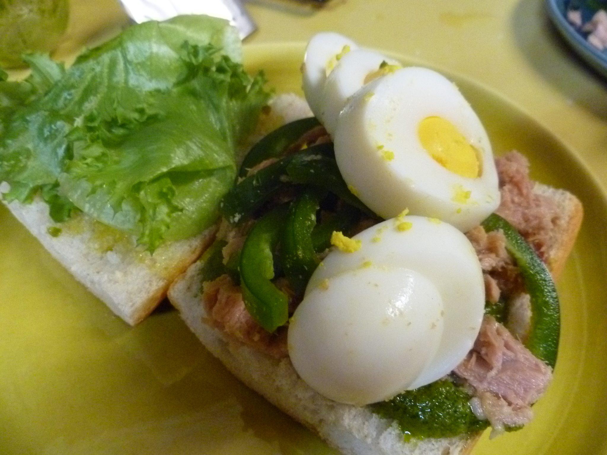 The Ultimate tuna fish sandwich