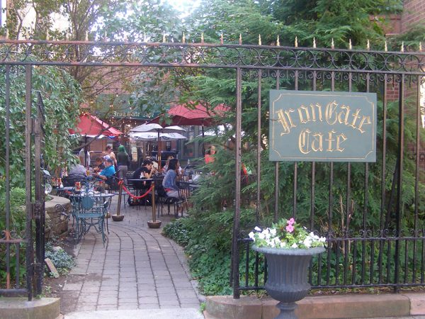The Iron Gate Cafe in Albany, NY.